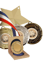 Medals Cases and Ribbons